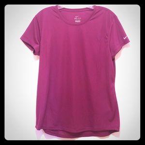 Nike Dri-Fir T-Shirt in Magenta NWOT
